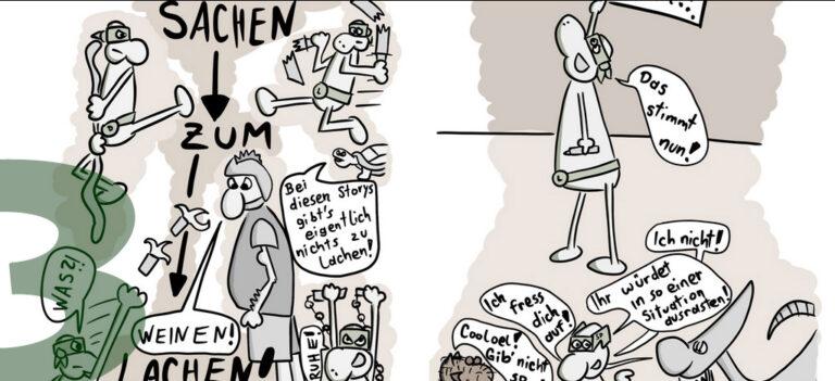 Comic: CRAZY TURTLES Sachen zum Lachen 1