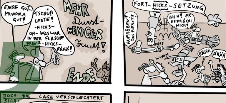 Comic: CRAZY TURTLES – Was ist bloß mit Dummantello los?