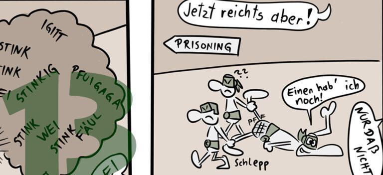 Comic: CRAZY TURTLES – Sachen Zum Lachen 3