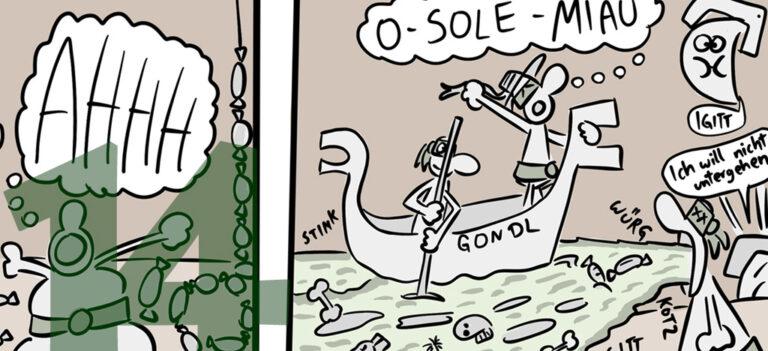 Comic: CRAZY TURTLES – Angriff der Killerschönis!